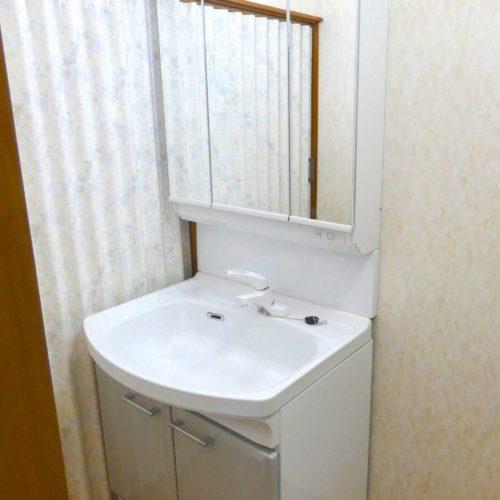 洗面台の取り替えリフォーム