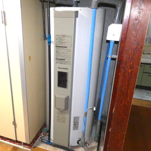 電気温水器の取り替え